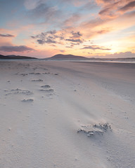 Sunset at Luskentyre (David Kendal) Tags: sunset seascape beach sand dusk tse luskentyre traighrosamol losgaintir ceapabhal traighlosgaintir sunsetsandsunrisesgold