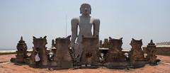 Sravanabelgola 4 (India.Stretched) Tags: india karnataka monolith jain pilgrimage bahubali sravanabelgola vidhyagiri
