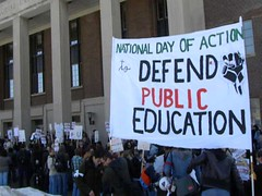National Day of Action in Defense of Public Ed...