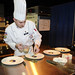 Spc. Doud competes in contemporary category at the Army Culinary Arts Competition