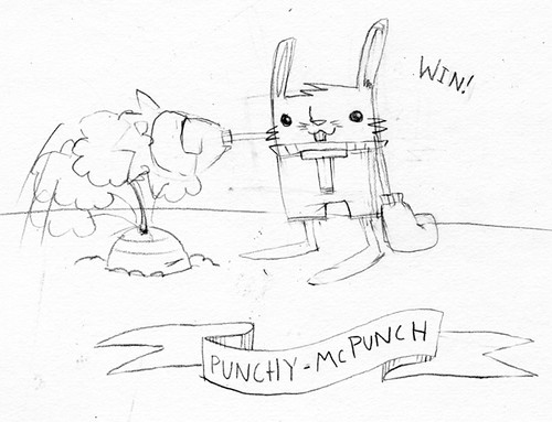 punchy sketch