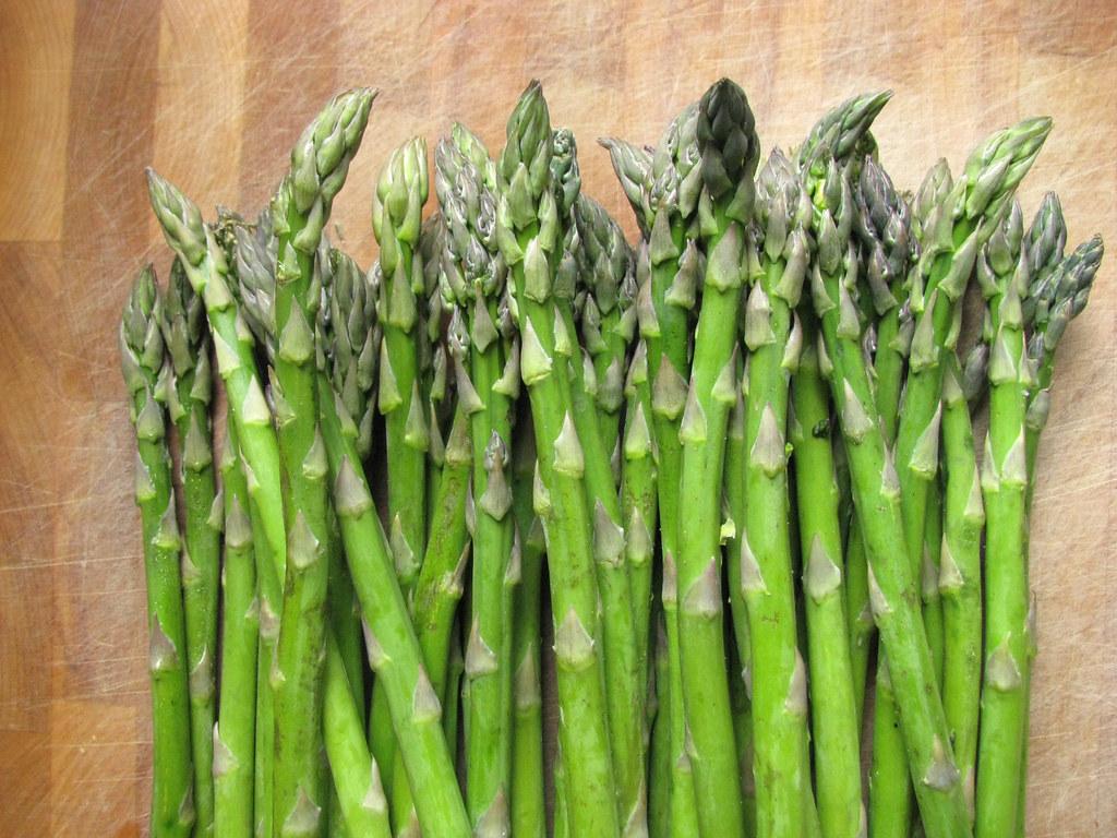 first asparagus 2010