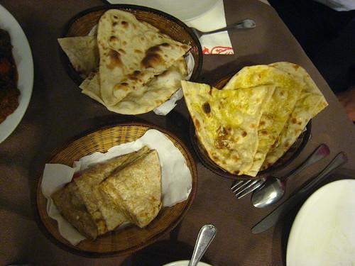 坦都印度餐廳-nan-原味,蒜味,馬鈴薯