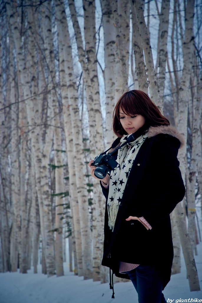 MIna in Hokkaido