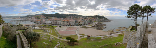 Baiona from Montereal Castle