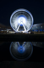 Wheel Of Light (Paul Sivyer) Tags: church wheel skyline liverpool paul dock albert birkenhead beatles bigwheel mersey pizzaexpress jubileebridge runcornbridge jurysinn liverpooleye wildwales sivyer
