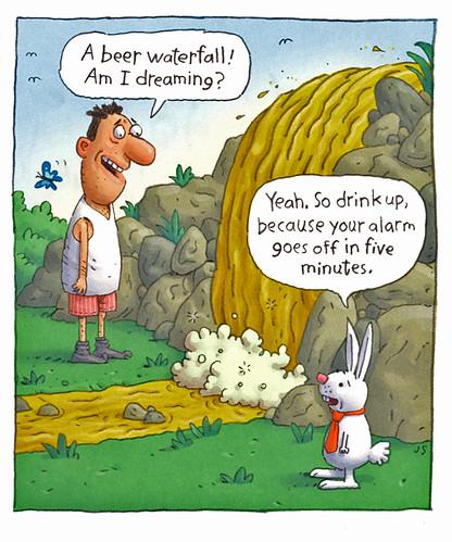beer-waterfall