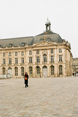 "Bordeaux (Peter Gutierrez) Tags: photo europe european la france french français française aquitaine gironde bordeaux gascon bordèu city town urban street streets gothic heritage architectural architecture ancient monument monuments historic history historiques sidewalk pavement public ancienne peter gutierrez ""peter gutierrez"" film photograph photography"