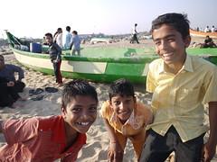 Kids on Marina Beach