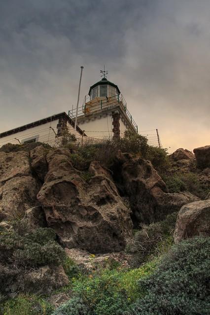 Santorini's Lighthouse