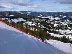 Olympic downhill course, Kvitfjell Photo