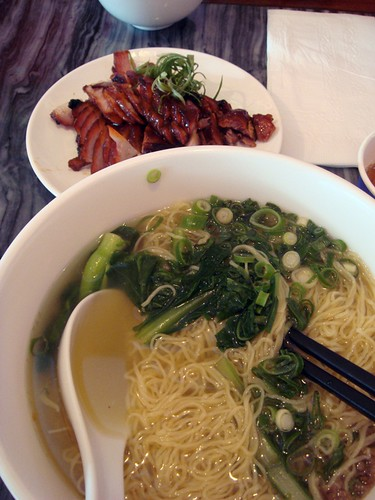 Charsiew noodle@Lok Fook