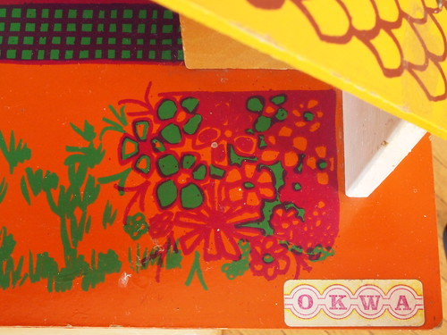 1974 OKWA dolls house - Logo