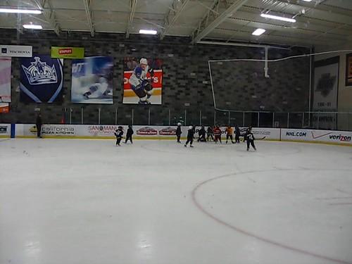 Filip's Hockey Practice