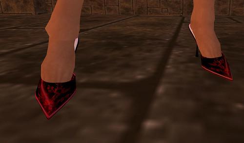 Vlintuition Chinese Brocade Heels