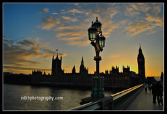 London, England (sdkbphotography) Tags: sunset england london westminster streetlamp victorian parliament artdeco riverthames houseoflords nikond3000