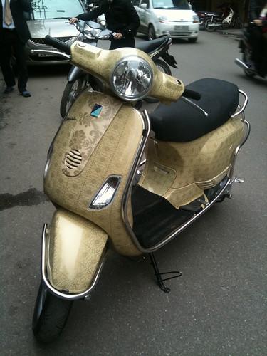 Custom Vespa Scooter