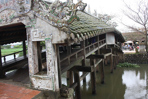 Bridge made by a rich lady in Hue