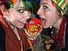 We lick Lucky Charms!! (Megan is me...) Tags: blue red portrait orange color green colors smile fashion rose yellow self hair effects photography one diy clothing crazy rainbow eyes colorful neon pretty colours russell mckay bright unique cassidy awesome meg violet plum megan style nuclear special clothes kind fishbowl iguana jerome colored mayhem 2009 punky striped bleached dyed stpatricksday napalm sfx rosered megface meganisme bleachednapalmorange cassillydilly