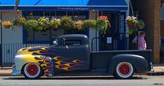1953 Chevy pickup (kenmojr) Tags: chevrolet truck flames pickup chevy hotrod 1953 kenmo