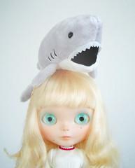 Margot & her pet shark