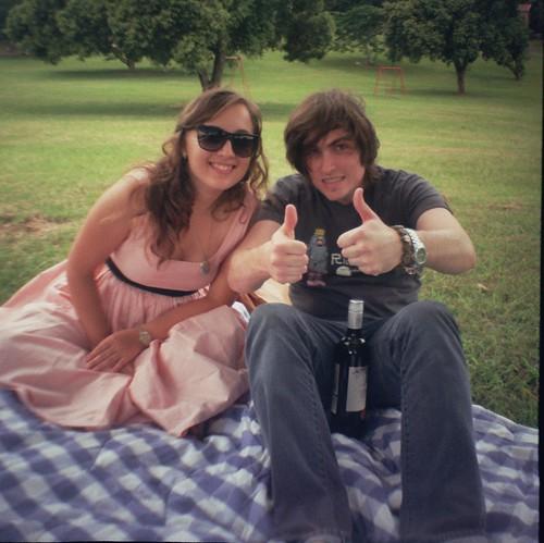Impromptu picnic