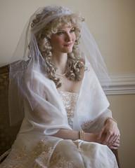 Bridal Portrait SOOC (8 x10) (shallowend) Tags: wedding portrait bride virginia beads chair nikon sitting veil dress lace curls 8x10 reception curly sit gown bridal bridalportrait sequins seated curlyhair stafford christinamarie 5981 modelmayhem d700