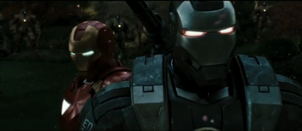 Iron Man 2 Iron Man and War Machine