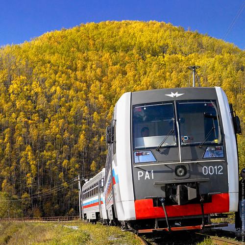 Train, Siberia, Russia