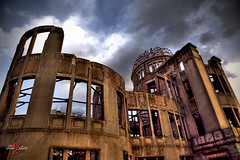 A-Bomb Dome (Geoffrey-Liau) Tags: travel japan structure hiroshima handheld historical hdr abombdome atomicbombdome 5dmk2