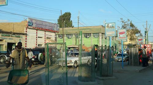 Hargeysa (Somaliland/Somalia) - Main street