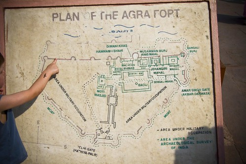 Agra Fort Layout | Flickr - Photo Sharing!