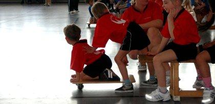 Kinder beim Sportfest