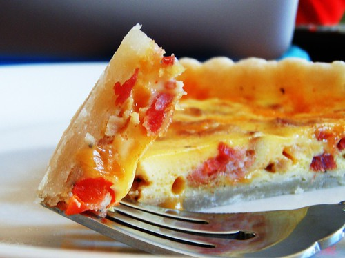 mexican cheese and bacon quiche tart - 45