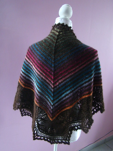Mom's Andrea's shawl