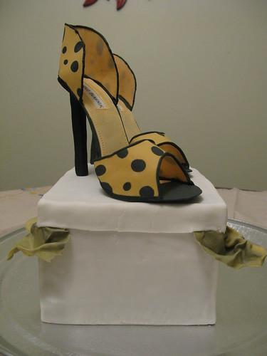 Manolo Blahnik Shoe Cake