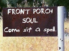 front porch soul sign