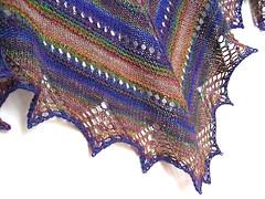 Handspun Prism Shawl
