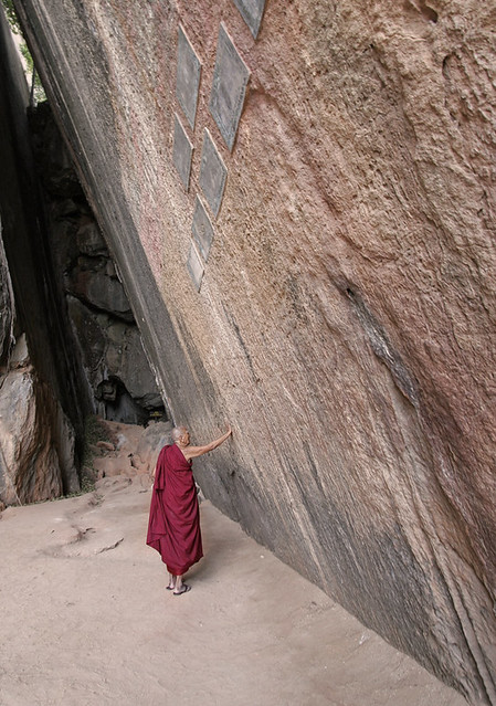 Monk at James Bond Island