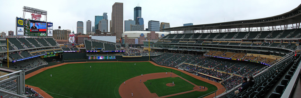 Target Field Open House Panorama