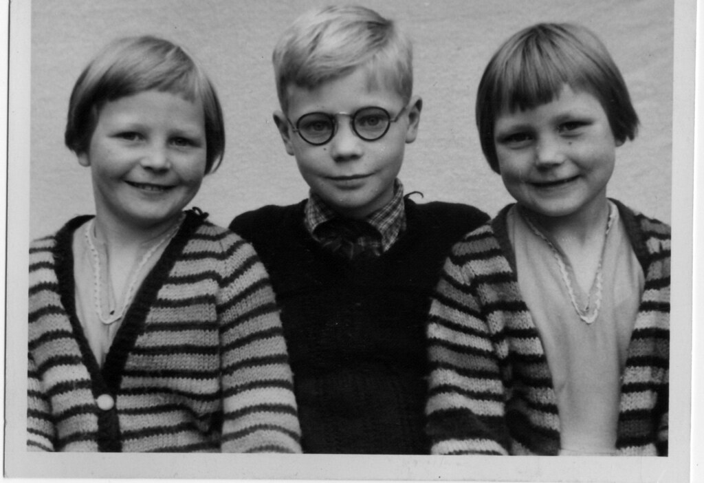 Peter, Ruth And Helen Hope 1950s