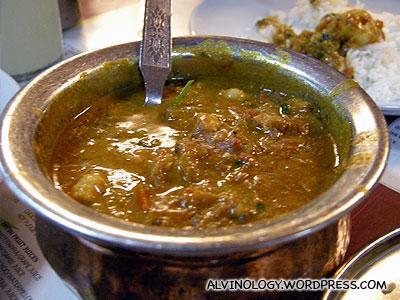 Yummy prawn curry