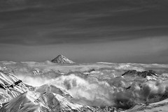 (shahin ghaffari) Tags: sky cloud mountain iran damavand sony