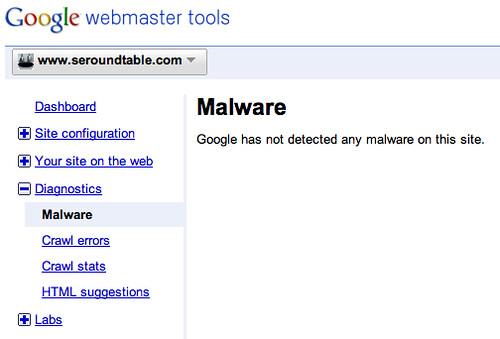 Google Malware Details WMT