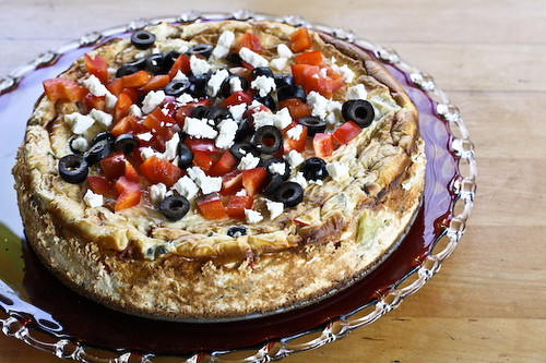 savory cheesecake horizontal