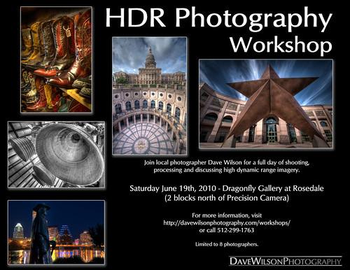 HDR Workshop, Austin, Saturday June 19th, 2010