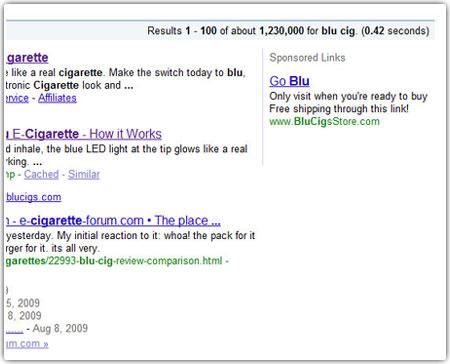 blucig-google-ad