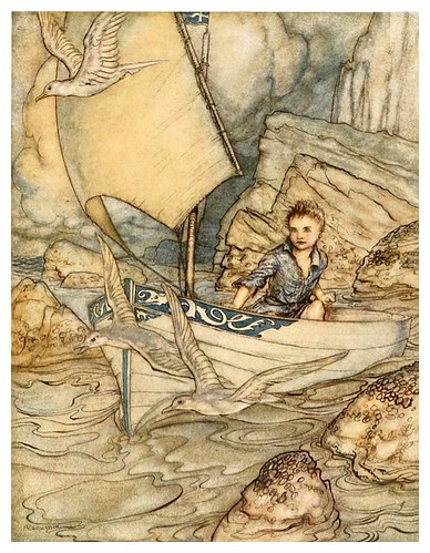003-The springtide of life, poems of childhood (1918)- Arthur Rackham