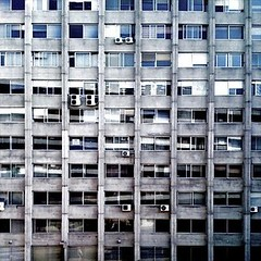 Human shelving (MarcoLaCivita) Tags: urban architecture square sevilla photoblog iphone mobilephotography visualnotes marcolacivita eyephoneography1