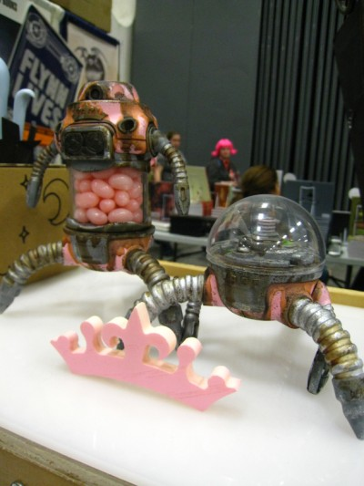 Neon Monster at Wondercon 2010